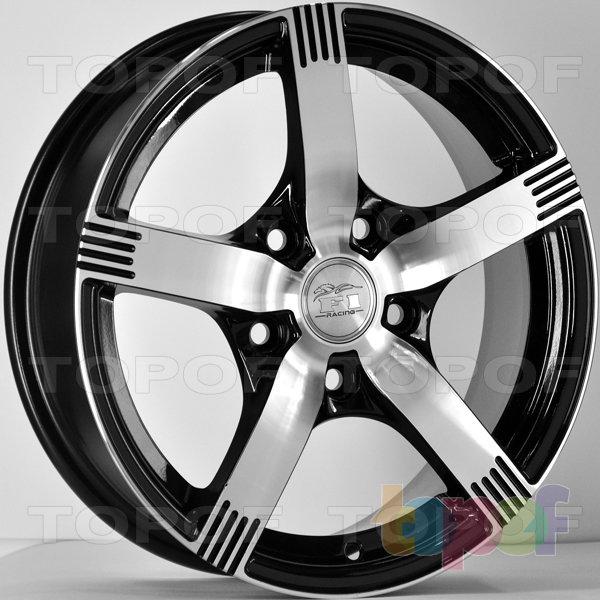 Колесные диски RS 589 F1. Цвет: матовый черный