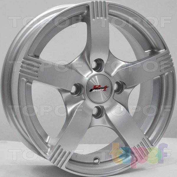 Колесные диски RS 589 R1. Цвет: серебряный