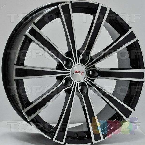Колесные диски RS 5905. Цвет: матовый черный