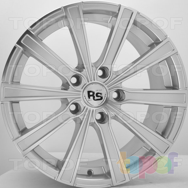 Колесные диски RS 5905. Цвет: Mist Hyper Silver