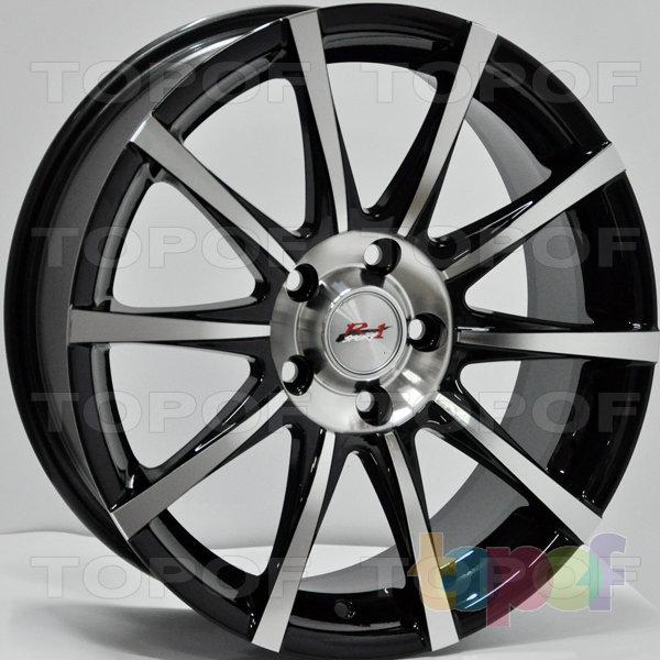 Колесные диски RS 5977. Цвет: матовый черный