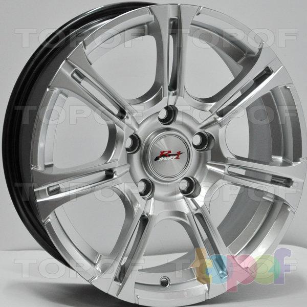 Колесные диски RS 6003. Цвет: насыщенный серебристый