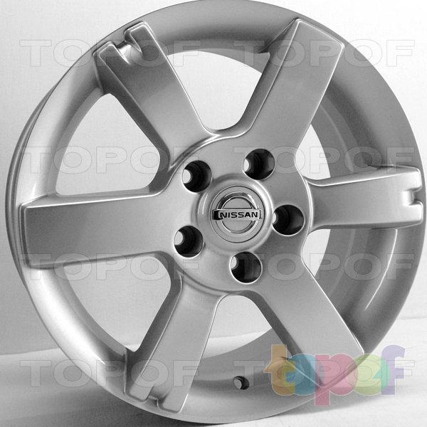 Колесные диски RS 602 rNI. Цвет: серебряный