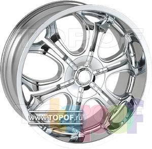 Колесные диски RS 6020. Изображение модели #1