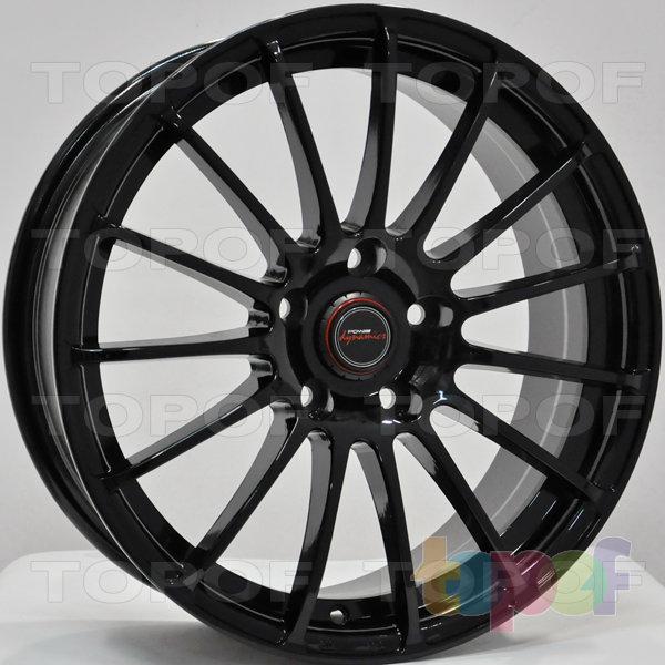 Колесные диски RS 606. Цвет: черный
