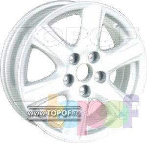 Колесные диски RS 609. Изображение модели #1