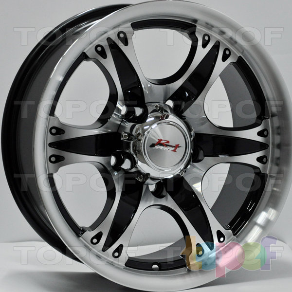 Колесные диски RS 613. Цвет: матовый черный