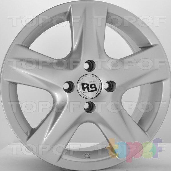 Колесные диски RS 620. Цвет: серебряный