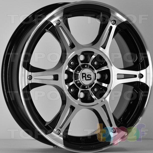 Колесные диски RS 627. Цвет: матовый черный