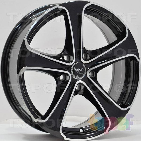 Колесные диски RS 6306. Цвет: матовый черный