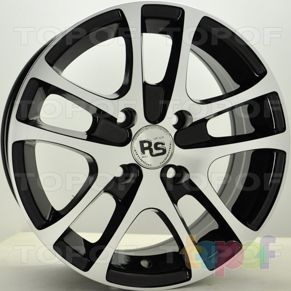 Колесные диски RS 652. Цвет: матовый черный