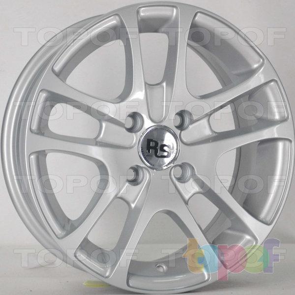 Колесные диски RS 652. Цвет: серебряный
