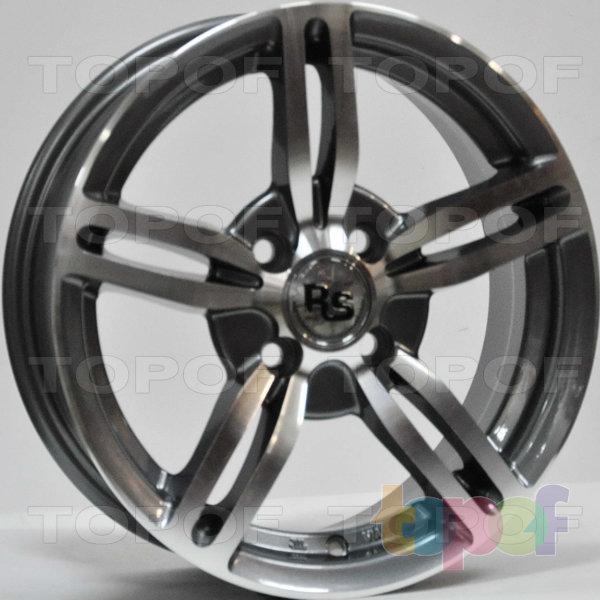 Колесные диски RS 653. Цвет: матовый серый, оружейный металл серый, антрацит