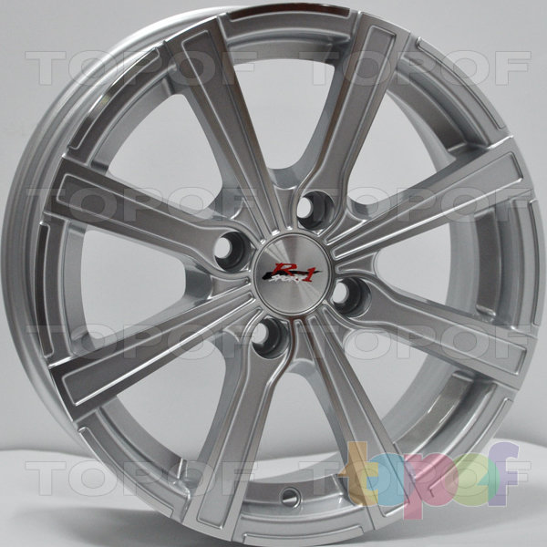 Колесные диски RS 655. Цвет: Mist Hyper Silver