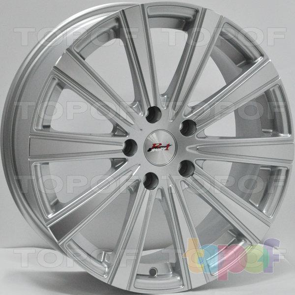 Колесные диски RS 657. Цвет: Mist Hyper Silver