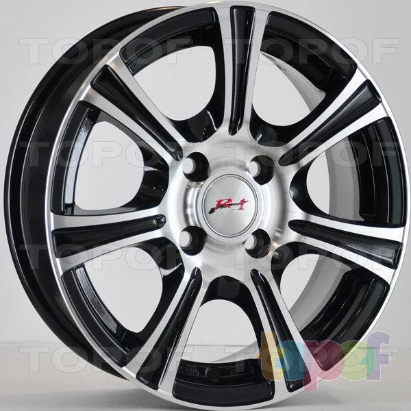 Колесные диски RS 659. Цвет: матовый черный