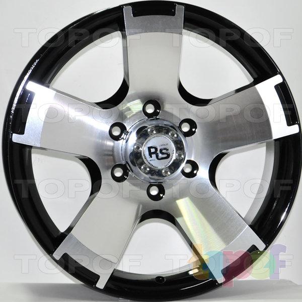 Колесные диски RS 687. Цвет: матовый черный