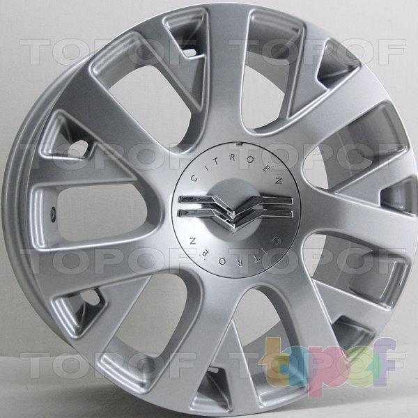 Колесные диски RS 702D. Цвет: серебряный