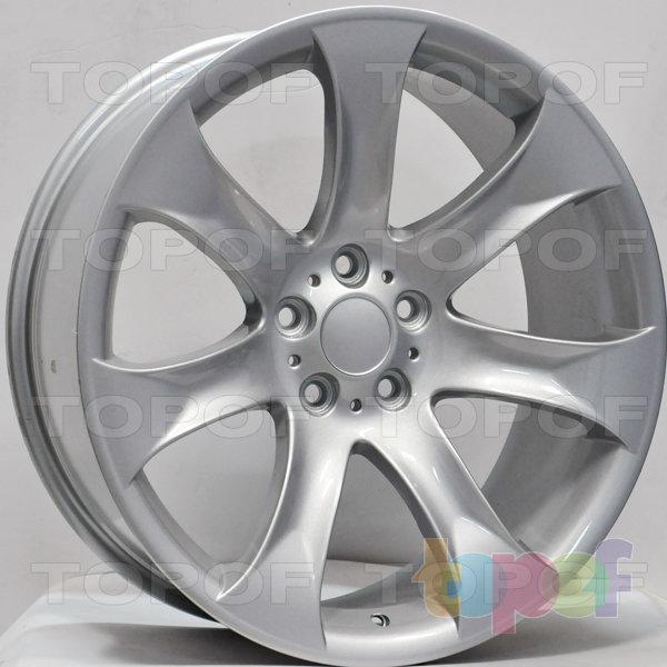 Колесные диски RS 704. Цвет: Насыщенный серебристый