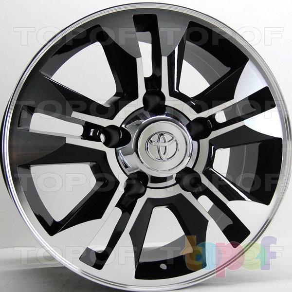 Колесные диски RS 710 rTO. Цвет: матовый черный