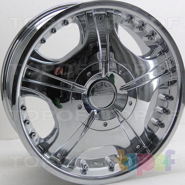 Колесные диски RS 722. Цвет: Хром