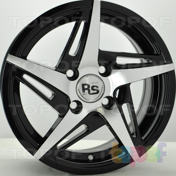 Колесные диски RS 729. Цвет: матовый черный