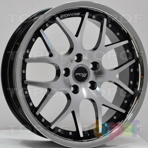 Колесные диски RS 738. Цвет: матовый черный