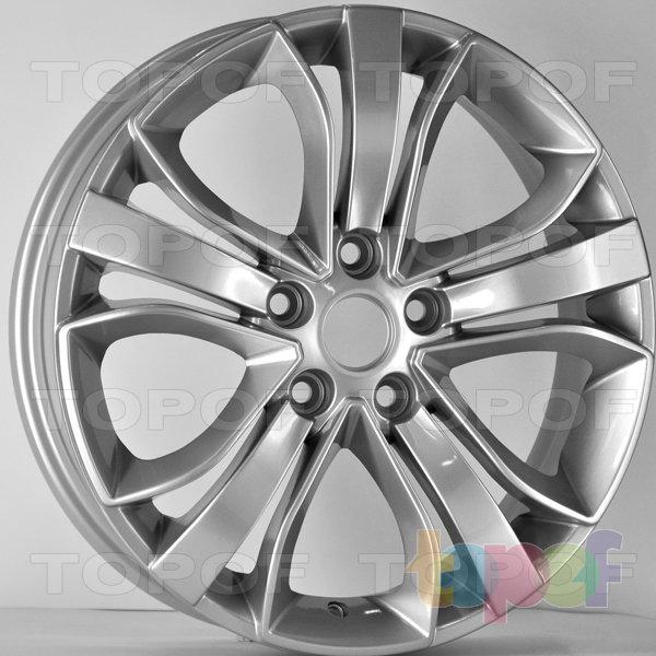 Колесные диски RS 745 rMA. Цвет: серебряный