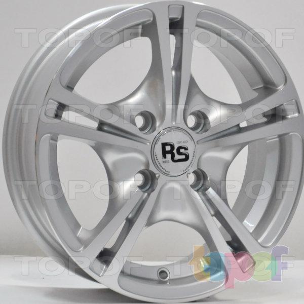 Колесные диски RS 805. Цвет: серебристый с дымкой