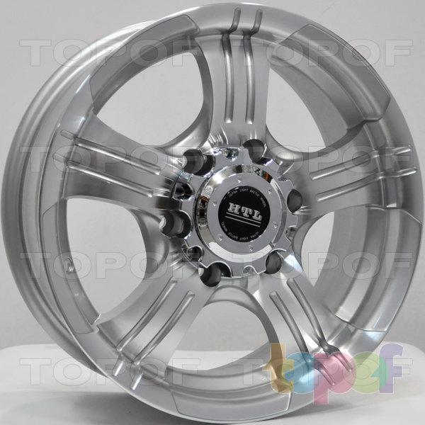 Колесные диски RS 826. Цвет: серебристый с дымкой