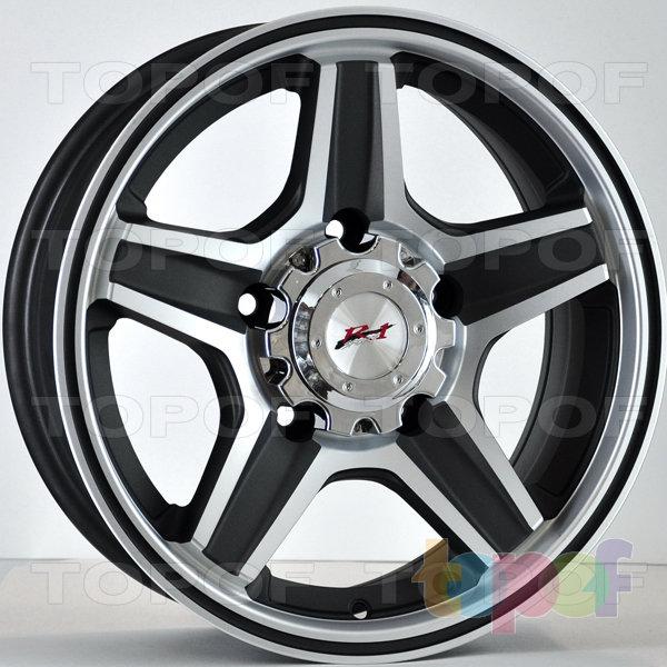 Колесные диски RS 828. Цвет:насыщенный темно-серый с алмазной пылью