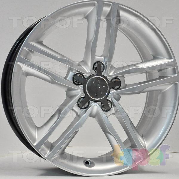 Колесные диски RS 83. Цвет: насыщенный серебристый