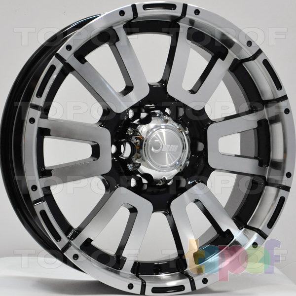 Колесные диски RS 855. Цвет: матовый черный
