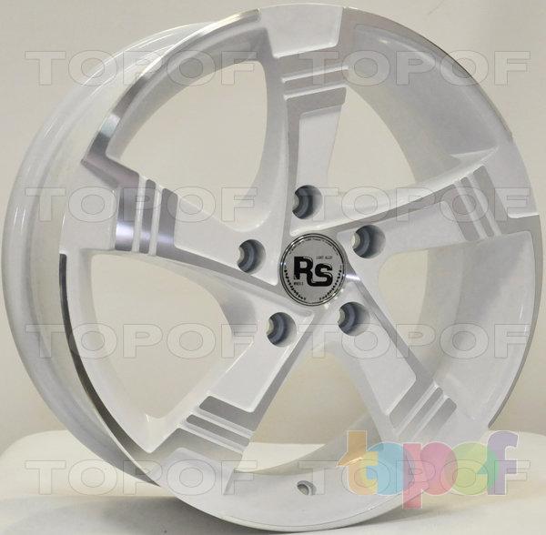 Колесные диски RS 882. Матовый белый цвет