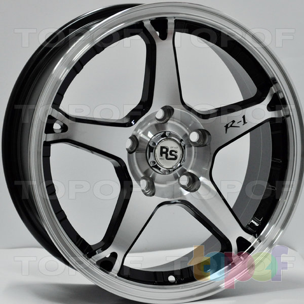 Колесные диски RS 887. Цвет: матовый черный