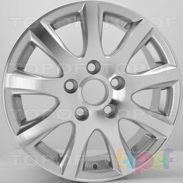 Колесные диски RS 901. Цвет: серебристый с дымкой