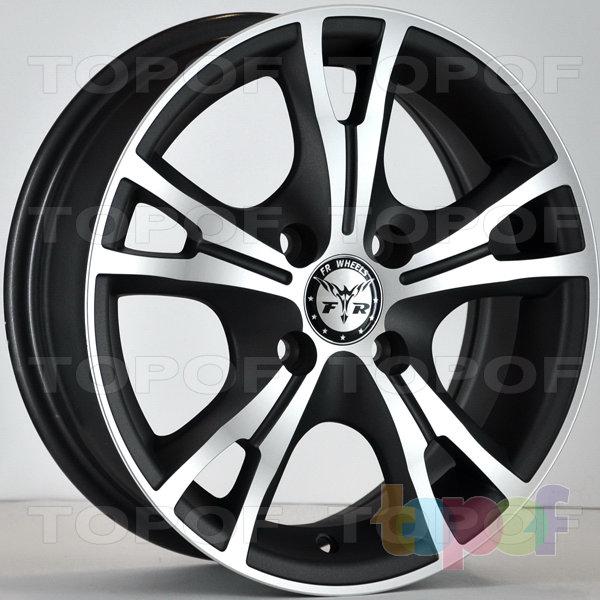 Колесные диски RS 903. Цвет: насыщенный темно-серый с алмазной пылью