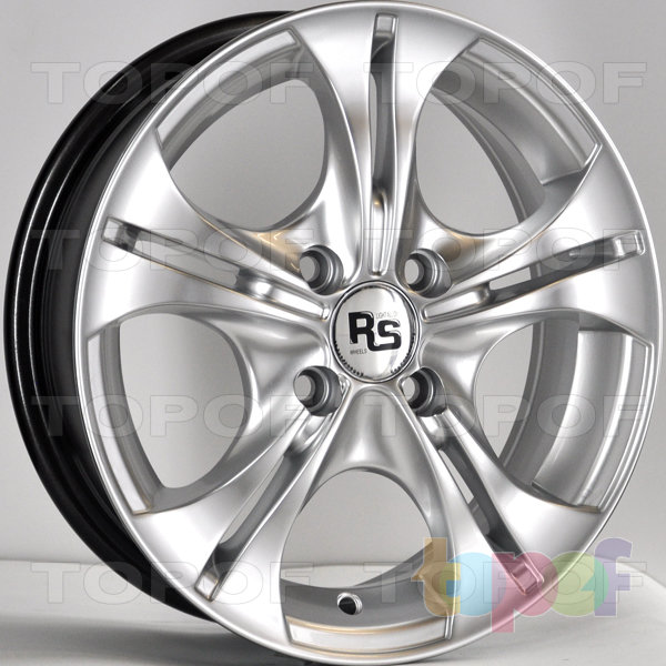 Колесные диски RS 905. Цвет: насыщенный серебристый