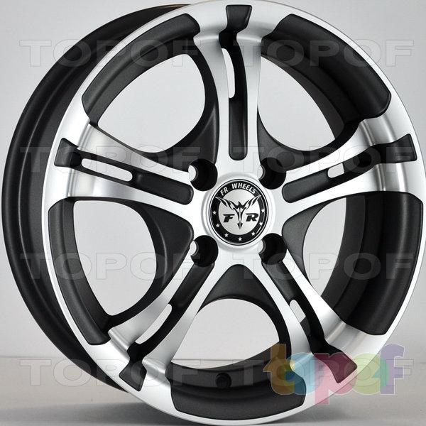 Колесные диски RS 908. Цвет: насыщенный темно-серый с алмазной пылью