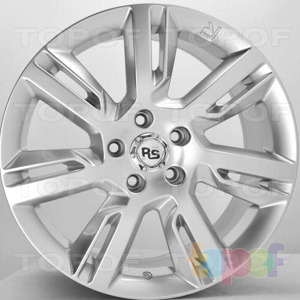Колесные диски RS 932. Цвет: насыщенный серебристый
