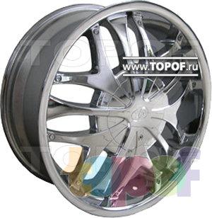 Колесные диски RS Lux 421. Изображение модели #1