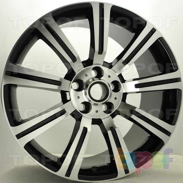 Колесные диски RS S358 rRO. Цвет: матовый черный