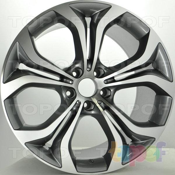 Колесные диски RS S581. Цвет: матовый серый, оружейный металл серый, антрацит