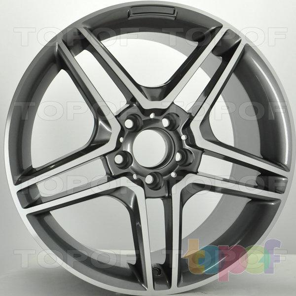 Колесные диски RS S617 rMB. Цвет: матовый черный