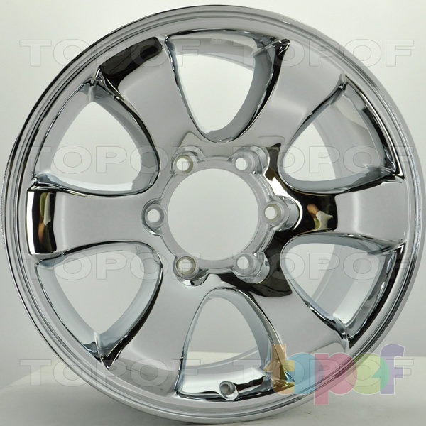 Колесные диски RS S636. Цвет: Хром