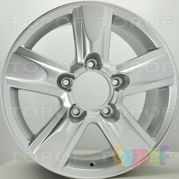 Колесные диски RS S679 rTO. Цвет: насыщенный серебристый
