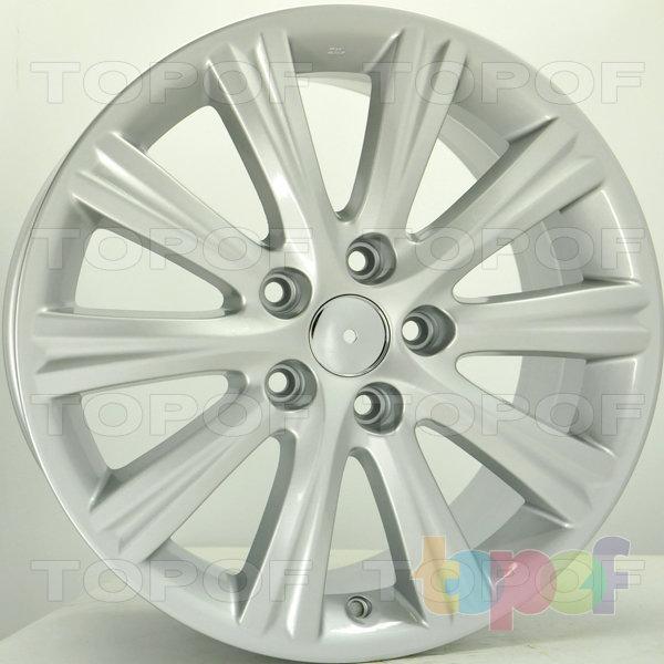 Колесные диски RS S680. Цвет: серебряный