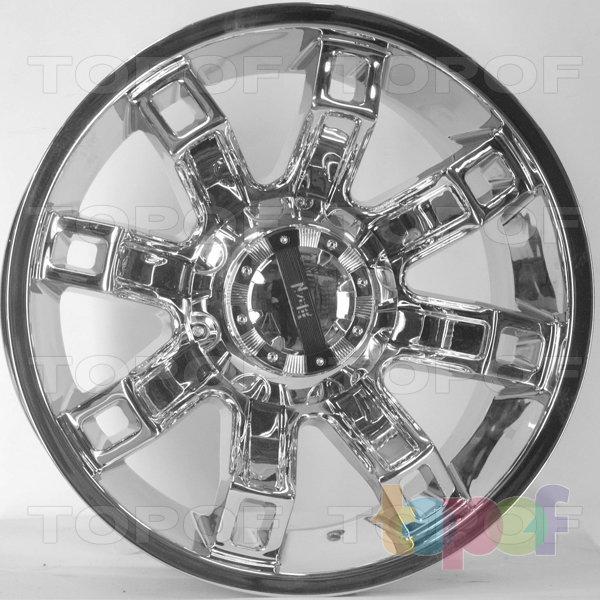 Колесные диски RS S688. Цвет: Хром