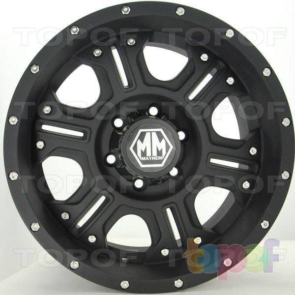 Колесные диски RS S765. Цвет: Матовый черный