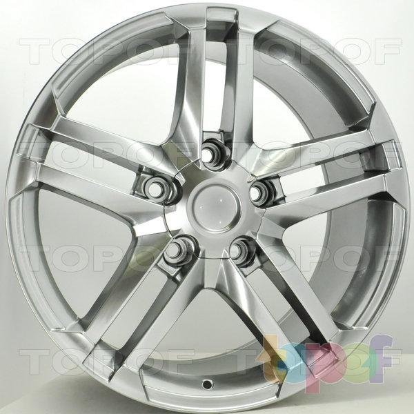 Колесные диски RS S784. Цвет: Насыщенный тёмно-серебристый
